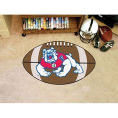 Fresno State Bulldogs NCAA Football Floor Mat (22x35)