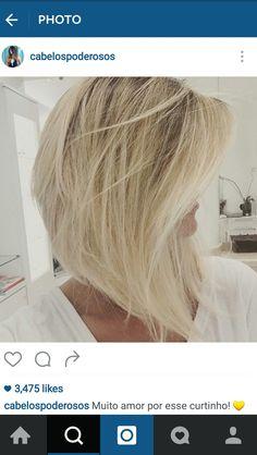 Long Angled Bob. Side View. Courtesy of Cabelospoderosos Instagram.