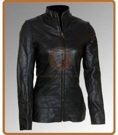 I Robot Bridget Moynahan Black Jacket