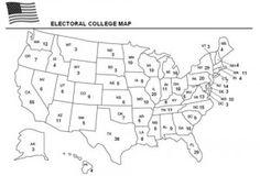Free Electoral College Worksheet Www Homeschoolgiveaways Com Learn