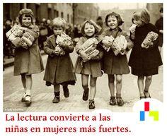 Hoy, día internacional de la mujer, deseamos a todas las mujeres un feliz día, y a las más pequeñas que disfruten de la lectura durante toda su vida. www.canallector.com