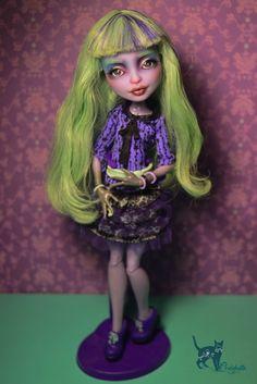 Custom Monster High Doll OOAK Twyla Repaint by Chelokotik | eBay