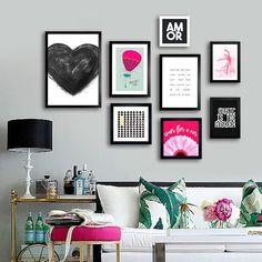 Kit Black Heart - Encadreé Posters Encontre a arte perfeita para sua decoração na Encadreé Posters.  Palavras-chave: parede decorada, parede de quadros, posters, quadros, decor, decoração, presentes criativos, arte, ilustração, decoração de interiores, decoração criativa, quadros decorativos, posters com moldura, quadros modernos, decoração moderna, decoração sala de estar, conjunto de quadros, gallery wall, kits de quadros