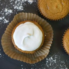 Vanilla Cupcakes (Grain-free, Nut-free) Moist and fluffy, these cupcakes feature a sneaky serving of vegetables that no one will notice!
