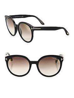 8d43381056f Tom Ford - Philippa 55MM Mirrored Oversized Round Sunglasses