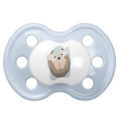 Baby Boy Hedgehog Pacifier