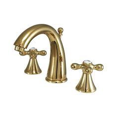 Elements of Design ES297 Widespread Lavatory Faucet