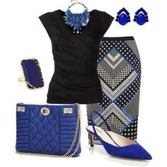 Fashion look from September 2014 featuring Nicole Miller tops, Oasis skirts and Giorgio Armani pumps. Browse and shop related looks. Work Fashion, Fashion Looks, Fashion Outfits, Womens Fashion, Fashion Trends, Skirt Fashion, Fashion Beauty, Dressy Outfits, Cute Outfits