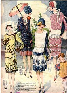 photos anciennes de la mode des années 30