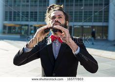 Stylish elegant dreadlocks businessman binoculars in business landscape by Eugenio Marongiu, via ShutterStock BUY IT FROM $1