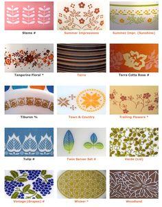 Pyrex patterns 10