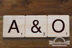 Te casas??? Decora y juega con nosotros http://www.letrasdemadera.com Tienda online.