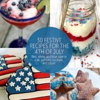 30 Festive 4th of July Recipes