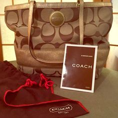 Authentic Classic Coach Purse