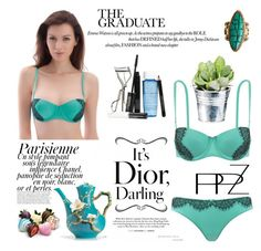 """PPZ Underwear"" by kenguri ❤ liked on Polyvore featuring Magdalena, Sol Sana, Franz Collection, Lancôme, CO and PPZ"