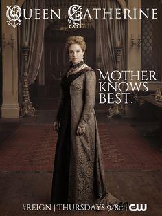 Meet Queen Catherine on October 17th 9/8c   #Reign