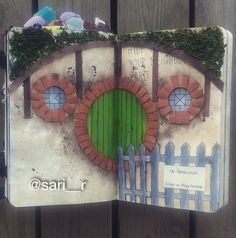 "Wreck this journal page by Sari Rakovic ""Hide this page in your neighbours yard"" #wreckthisjournal"