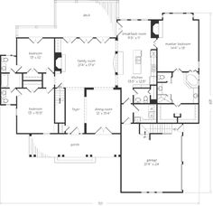 Bedroom addition ideas addition with 2 bedrooms and for Ranch house plans with jack and jill bathroom