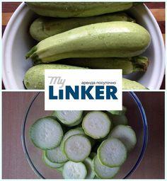 Заморозка овощей в домашних условиях: кабачки.