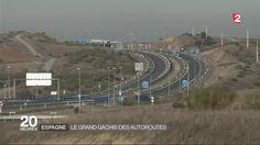 En Espagne, c'est le scandale d'un gaspillage à près de six milliards d'euros qui agite le débat public, celui des autoroutes fantômes.