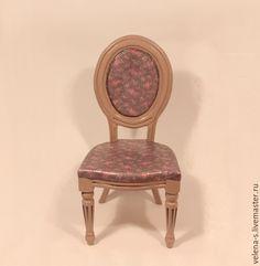Купить Стульчик для куклы №4 - стул для куклы, стульчик для куклы, стульчик, какао, разноцветный, розы