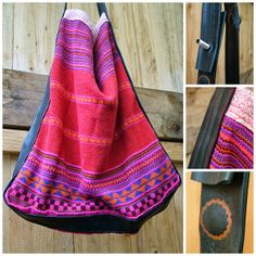A bag made from an old sweater and inner tube of a bike | bikelovin: Fahrradschlauch feat. Kuschelpulli