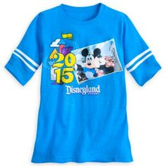 Mickey and Minnie Mouse Football Jersey for Women - Disneyland 2015