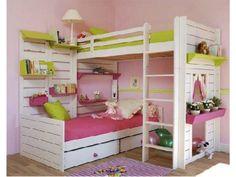 Literas recomendadas para todas las princesas que comparten recamara. http://www.fithome.com.mx/