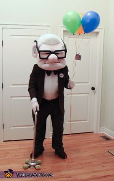 Carl Front. Carl Fredricksen from UP - Homemade costumes for men