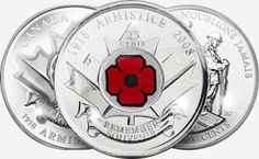 All the Colored Poppy Circulating Commemorative Coins issued by the Royal Canadian Mint for Remembrance Day Canadian Beer, Canadian Things, Canadian Soldiers, I Am Canadian, Canadian History, Canadian Penny, All About Canada, Canada Eh, Commemorative Coins