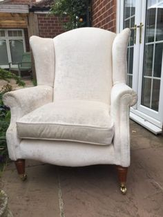 Charming High Back Wing Chairs, Pair | Ideas For The House | Pinterest | Wings,  Chairs And Wing Chairs