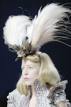 alexander mcqueen | Alexander McQueen Spring 2008 Collection on Liberty's Blog - Buzznet