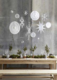 Holiday Inspiration from House Doctor - Weihnachten Natural Christmas, Noel Christmas, Modern Christmas, Scandinavian Christmas, Winter Christmas, Christmas Crafts, Scandinavian Style, Simple Christmas, Christmas Garden