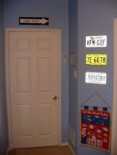 Transportation Boy's Room...