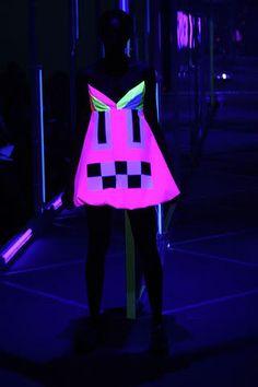 Glow in the dark fabrics! Great for EDC