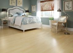 Lakeside Village Maple Laminate: a floating floor with real wood grain (no nails or glue needed). Basement Flooring, Diy Flooring, Hdf Floor, Lakeside Village, Floating Floor, Diy Design, Interior Design, Real Wood