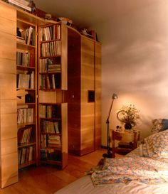 Ignez Ferraz » artigos » livros: estantes para guardar, cantos para relaxar