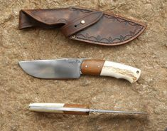 Bushcraft Knives, Knife Handles, Kitchen Knives, Man Cave, Campfires, Camps, Weapons, Hobbies, Projects