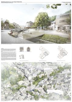 Preis: Vision: Ortsmitte Wallenfels Preis: Vision: Ortsmitte Wallenfels The post Preis: Vision: Ortsmitte Wallenfels appeared first on Architecture Diy. Landscape Architecture Model, Cultural Architecture, Architecture Portfolio, Sustainable Architecture, Architecture Plan, Landscape Design, Urbane Analyse, Parque Linear, Planer Layout