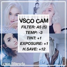 (Bella)❄️ Cold Filter ☁️ Looks best with bright pictures, but best with selfies ‼️ Click the link in my bio to get free vsco filters ❤️ Get this to 70 likes for another tutorial Dm us with any suggestions Vsco Cam Filters, Insta Filters, Vsco Filter, Instagram Captions For Selfies, Selfie Captions, Vsco Themes, Artsy Photos, Vsco Photography, Bright Pictures