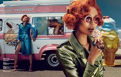 Rachel Rutt and Seon Model Sweet Fashions for Harper's Bazaar China by Shxpir | Fashion Gone Rogue