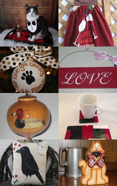 The Holiday Decor and More Team........has so much More..and More and More!  by Myrna Neal on Etsy--Pinned with TreasuryPin.com