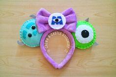 Monster's Inc. Felt Plush Mickey Ears
