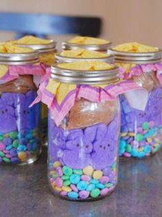 Creative DIY Easter Gift Ideas, Easy DIY Easter Basket Idea, Handmade Easter food ideas, Easter craft ideas #Easter #ideas #holiday www.loveitsomuch.com