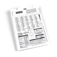 Nursing and Medical Reference Clipboard with Calculator - Clipboard