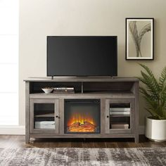 online shopping for Ameriwood Home Edgewood Fireplace 55 , Weathered Oak TV Stand, from top store. See new offer for Ameriwood Home Edgewood Fireplace 55 , Weathered Oak TV Stand, Fireplace Media Console, Fireplace Glass, Grey Fireplace Tv Stand, Fireplace Garden, Black Fireplace, Tv Stand Console, Freestanding Fireplace, Flat Panel Tv, Tv Stands