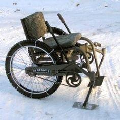 Renegade Wheelchair - Winter Package