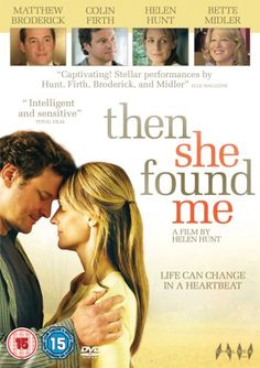 Then She Found Me [2008] [DVD] FUSION http://www.amazon.co.uk/dp/B001L4I2AO/ref=cm_sw_r_pi_dp_4Vq7tb09NCZVS
