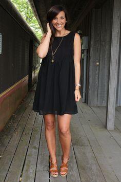 In The Spotlight Dress - Black - Uptown Girl Boutique