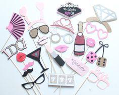bachelorette party ideas - bachelorette party games, photobooth props